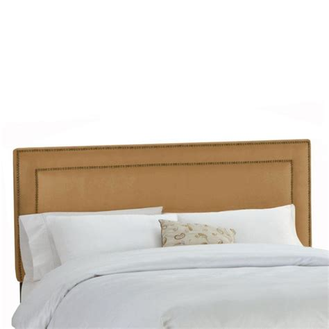 california king upholstered headboard skyline furniture upholstered california king headboard in