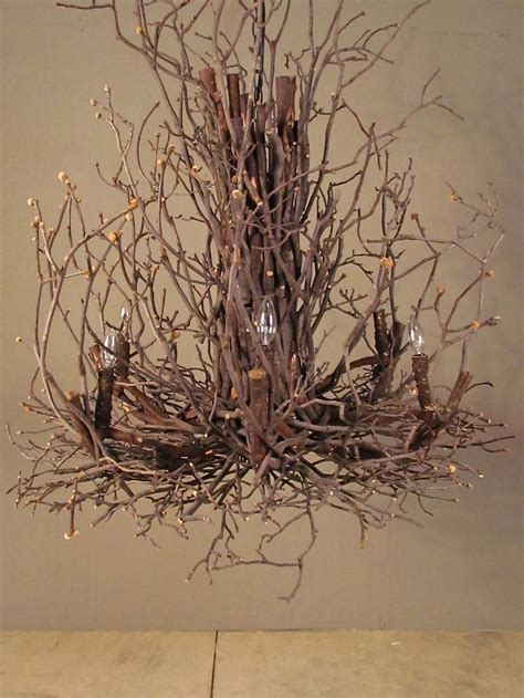 Twig Home Decor Twig Chandelier Home Decor To Die For