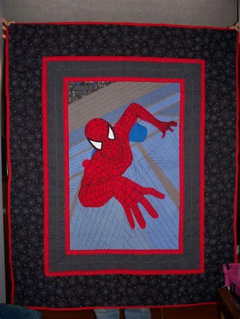 pattern for spiderman quilt spiderman quilt