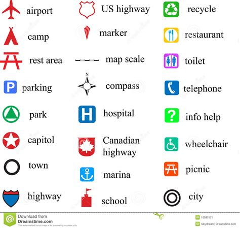 map meaning meaning of map symbols images