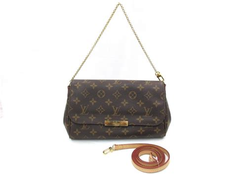 authentic louis vuitton favorite mm chain clutch shoulder