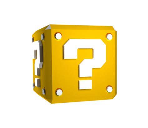 mario block l wii mario galaxy coin block the models resource