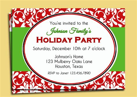funny work holiday party invitation wording wedding