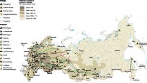 russia economic map our cartographers made russia