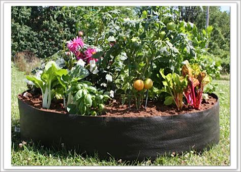 Fabric Raised Garden Beds by Big Bag Bed Fabric Raised Bed