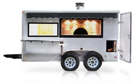 mobile pizza oven mobile pizza oven trailer portable wood fired oven for