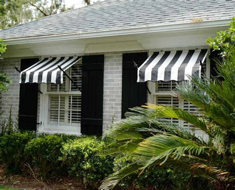 Spear Awnings by Spear Window Awnings Made With Real Wrought Iron Frames