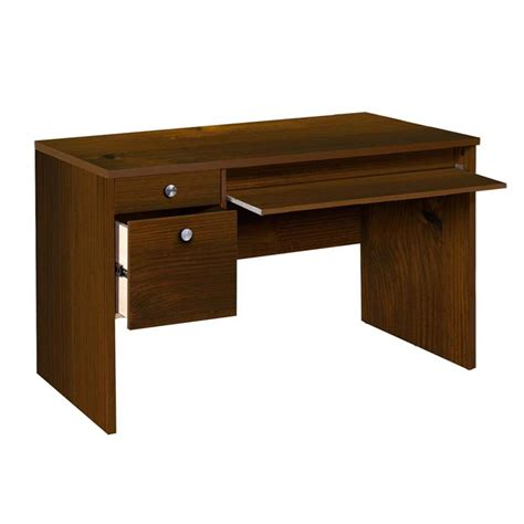 Office Desk Essentials Nexera Essentials Office Collection 24 X 48 Desk Truffle 730912