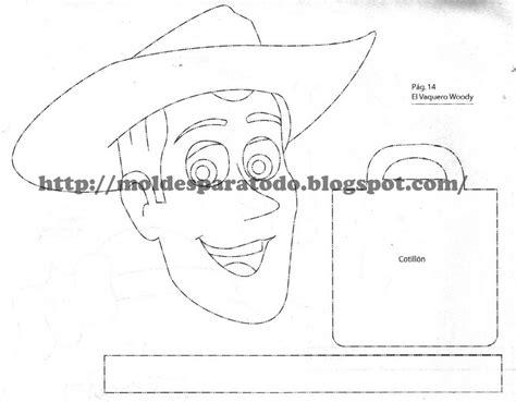 moldes para hacer sombreros de vaqueros imagui moldes para todo dulcero el vaquero woody