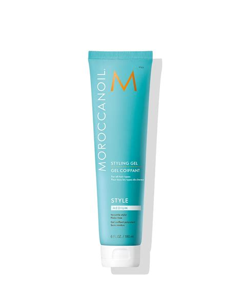 una hair products from italy gel styling medio italy moroccanoil