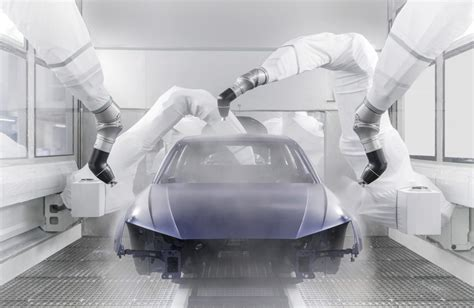 spray painting sop audi s new paint shop is efficient sustainable and