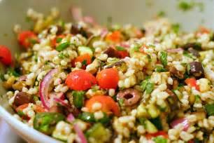 mediterranean eggplant and barley salad smitten kitchen