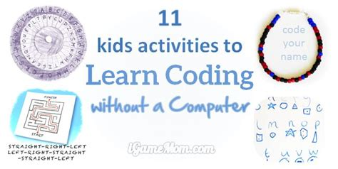 11 activities to learn coding without a computer