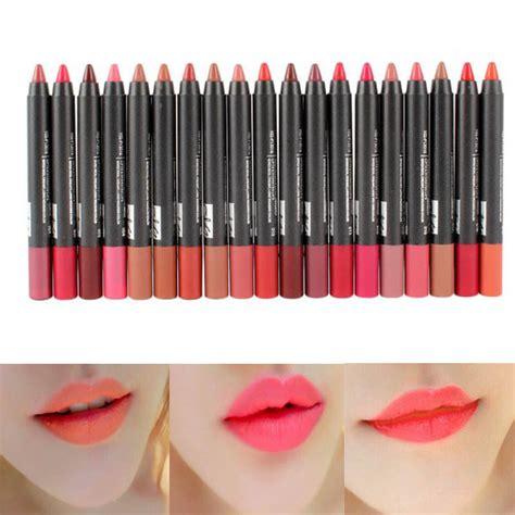 Lip Colour Pencil Make lip liner maquiagem make up batom liquid lipstick waterproof a levre matte lip pencil