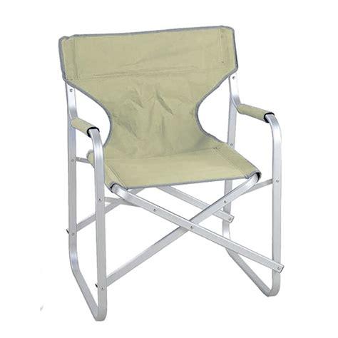 sedia regista alluminio sedia regista in alluminio colore ecru