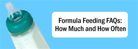 how much and how often to feed a puppy formula feeding faqs how much and how often