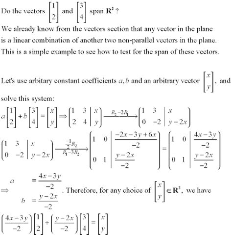 online tutorial linear algebra systems of linear equations tutorial
