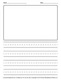 Creative Writing Template by Tim De Vall Comics Printables For
