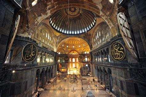 cupola di santa sofia basilica di santa sofia istanbul turismo turchia
