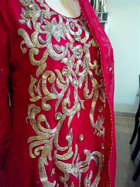 embroidery design in dress embroidery designs dresses pakistani 2018