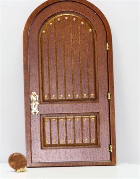 Dollhouse Door by Dollhouse Miniature 1 12 Manor House Door In Walnut By Jbm