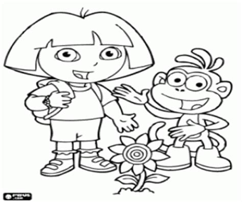 dora and friends coloring pages games dora the explorer coloring pages printable games