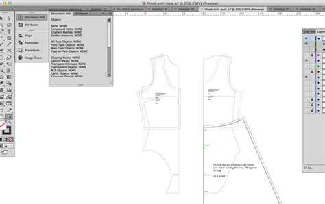 pattern making with adobe illustrator drafting patterns with software cloth habit