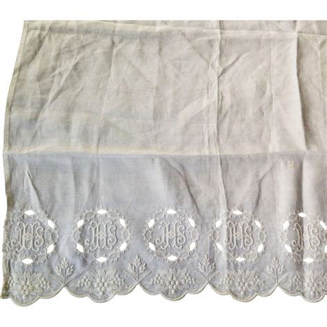 communion table altar cloth from manderlyestates on ruby