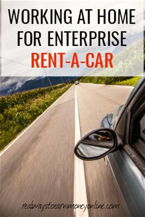working at home for enterprise rent a car