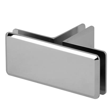 Handrail End T Shape Shelf Bracket Glass Door Clamp Manufacturer