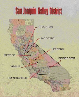 california map san joaquin valley mission san joaquin valley california department of
