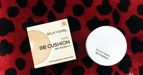 Silkygirl Bb Cushion review silkygirl magic bb cushion