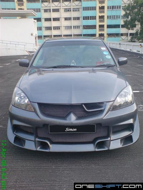 mitsubishi lancer glx modified modified lancer glx
