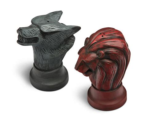 Game of Thrones Map Marker Salt and Pepper Shakers   ThinkGeek