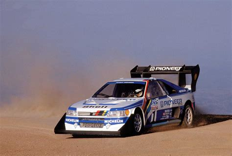 peugeot 405 t16 peugeot 405 t16 pikes peak 1988 89 rally group b shrine