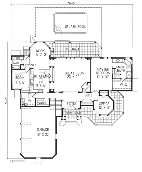 cinder block homes plans concrete block house floor plans