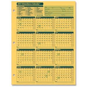 Calendar 2018 Sheets Monthly Employee Attendance Calendar Sheets Blank Forms