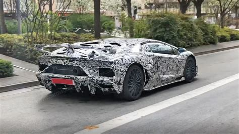 lamborghini aventador sv jota 2019 coupe and roadster spy photos specs on sale date car magazine