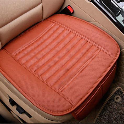 housse de si鑒e auto housse de si 232 ge auto bambou pu ecologique coussin chaise 49cm