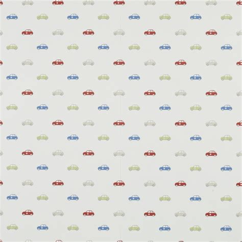 car childrens wallpaper green blue red at laura ashley