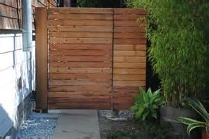 side yard bike parking gate ian moore design