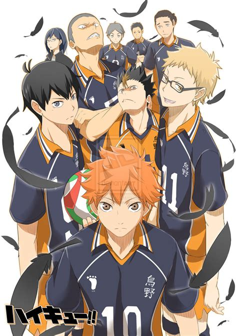 anime haikyuu haikyuu 3 by masabodo on deviantart