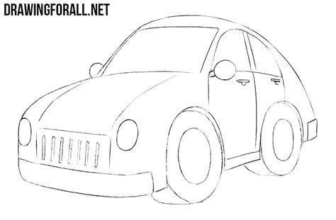 how to draw a jaguar car drawingforall net how to draw a car easy drawingforall net