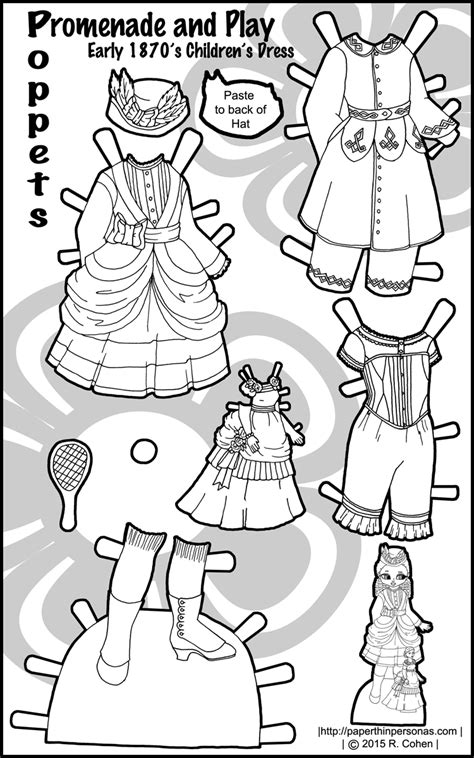 black doll white doll research promenade and play paper doll clothes for the