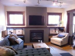 family room tv new fireplace with tv eclectic family room minneapolis