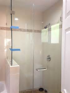 hanging glass shower door install a towel hook holder to unframed shower glass