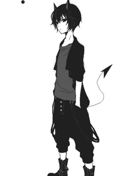 anime boy demon image  kaira