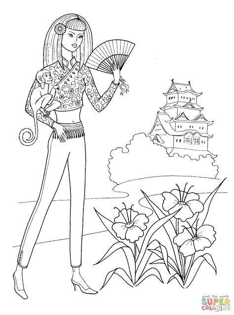 japanese and designs color by numbers coloring book for adults an color by number coloring book inspired by the beautiful culture of japan color by number coloring books volume 23 books japanese with fan coloring page free printable