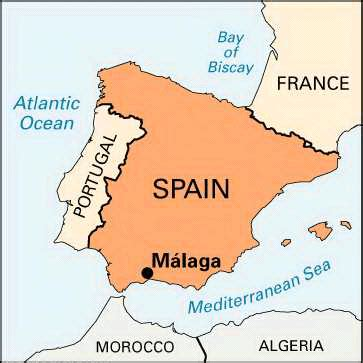 malaga spain map imsa kolese