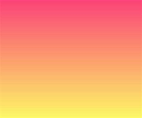 pink and yellow gradient